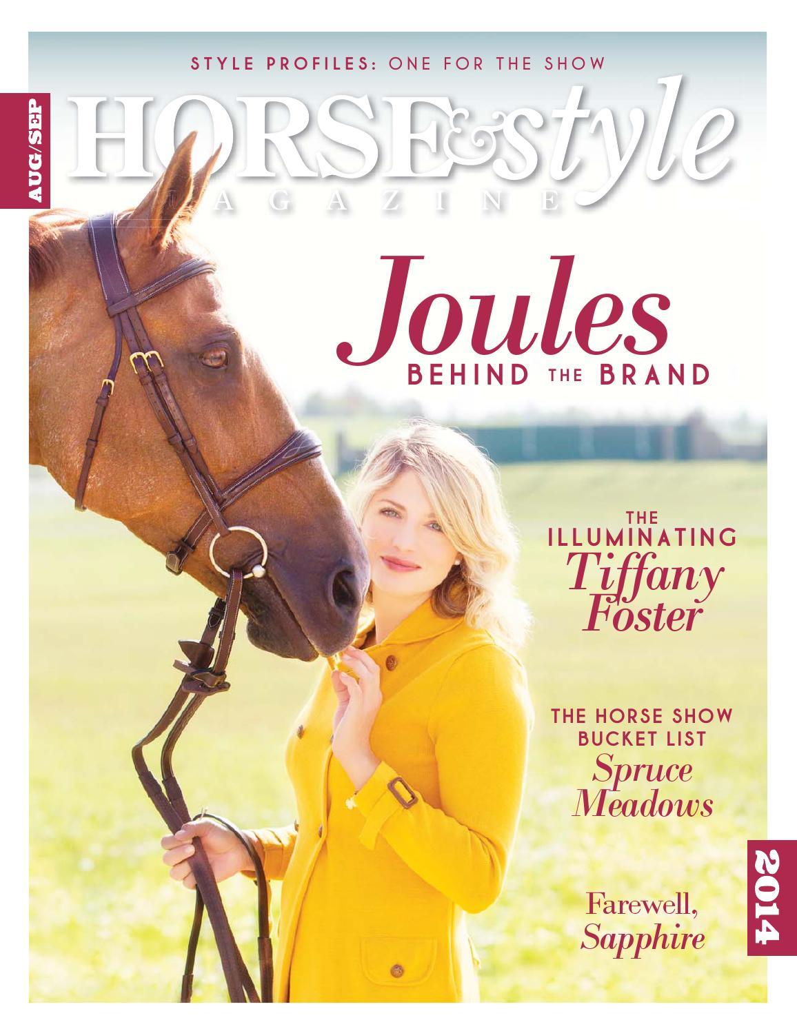 Horse & Style Magazine Aug/Sept 2014 by Horse & Style ...