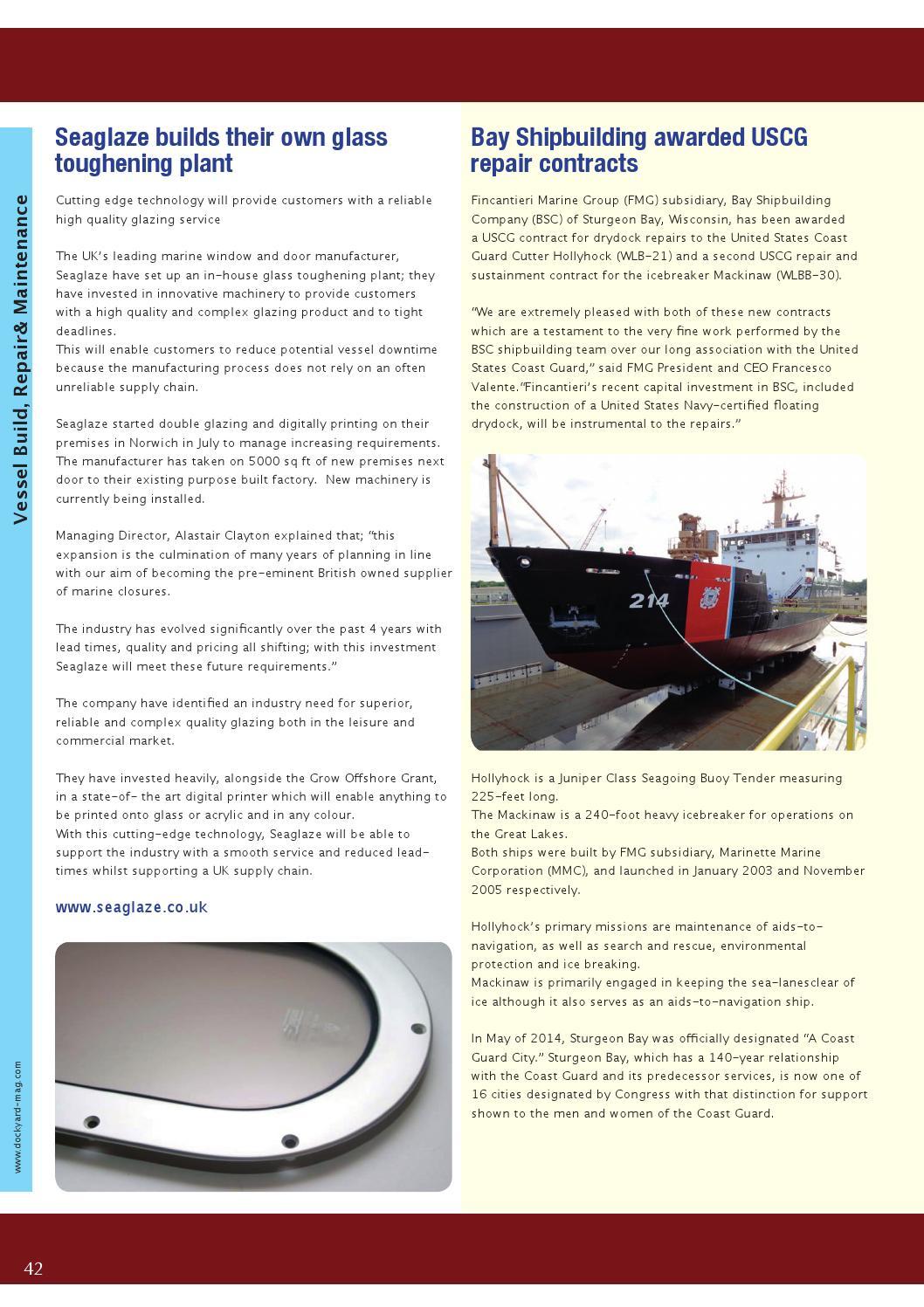 Dockyard Magazine August 14 Issue By Dockyard Magazine