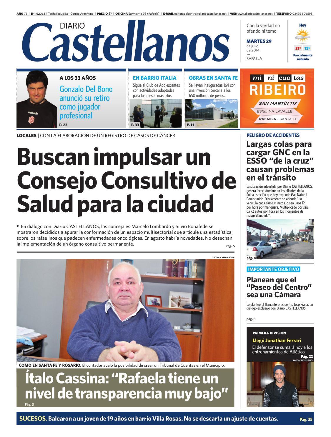 Diario Castellanos 29 07 by Diario Castellanos - issuu 4e0ec6afd59f3