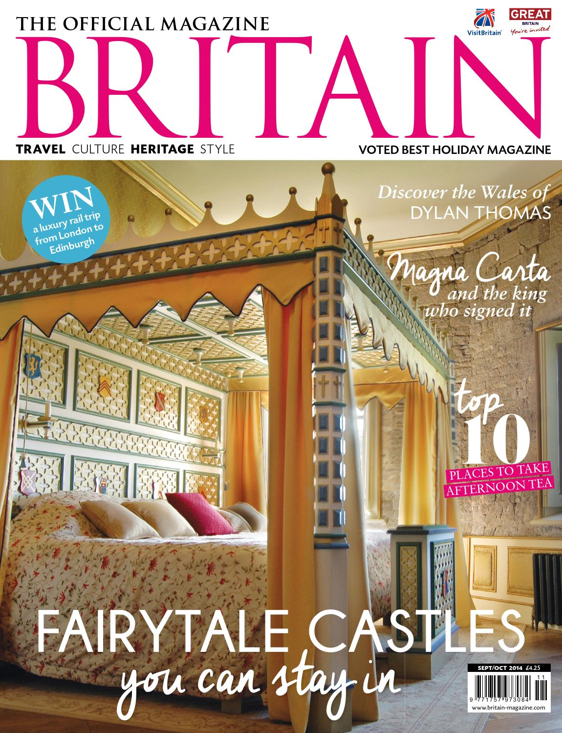 Britain September October 2014 By The Chelsea Magazine Company Issuu
