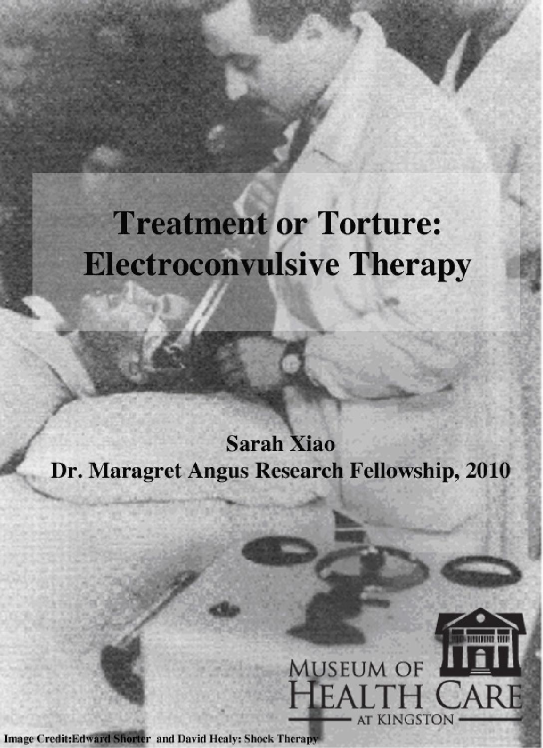 Treatment or torture