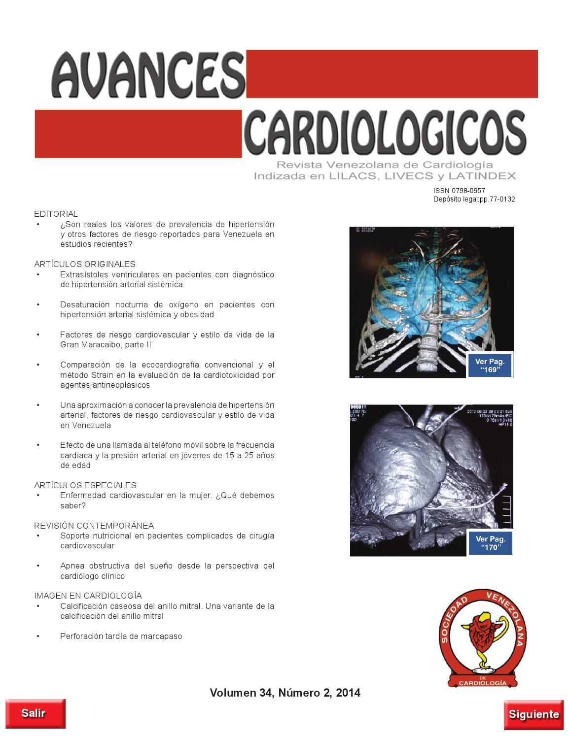 Pautas de presión arterial por agente