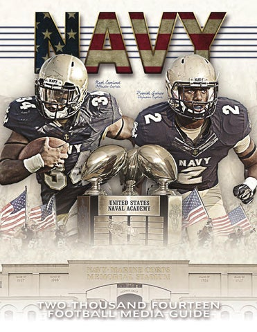 reputable site 8c1ce 9438a 2014 Football Guide by Naval Academy Athletic Association - issuu