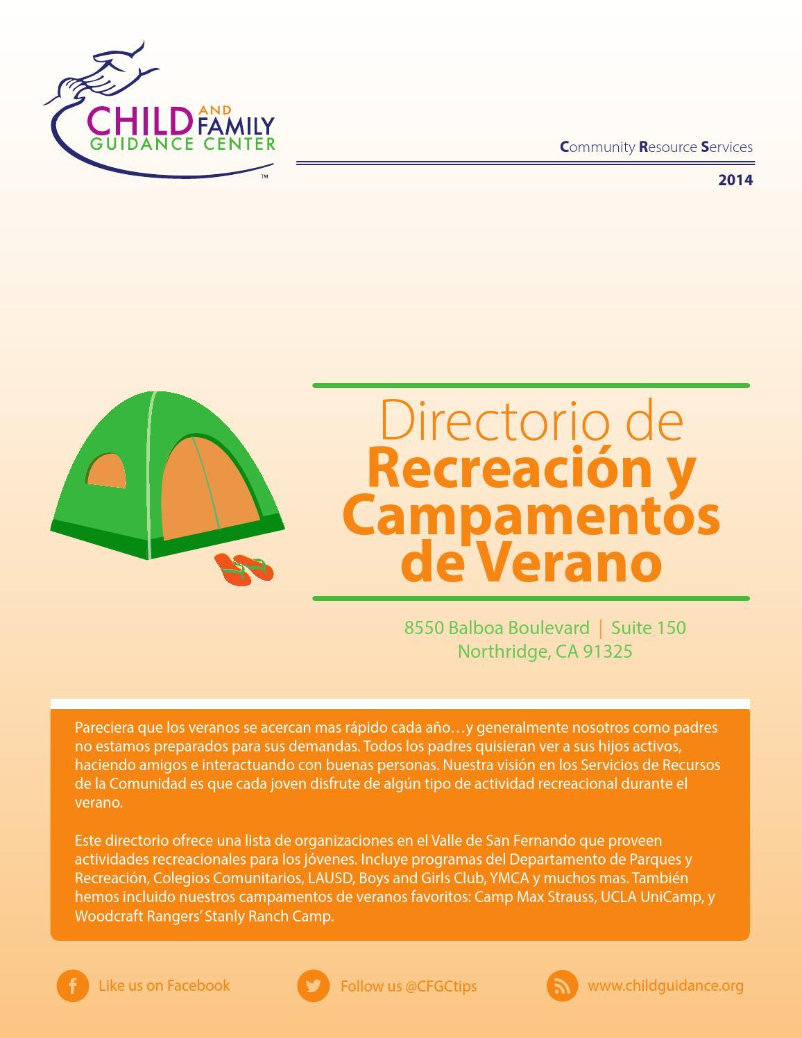Directorio de Recreación y Campamentos de Verano by CFGCtips - issuu