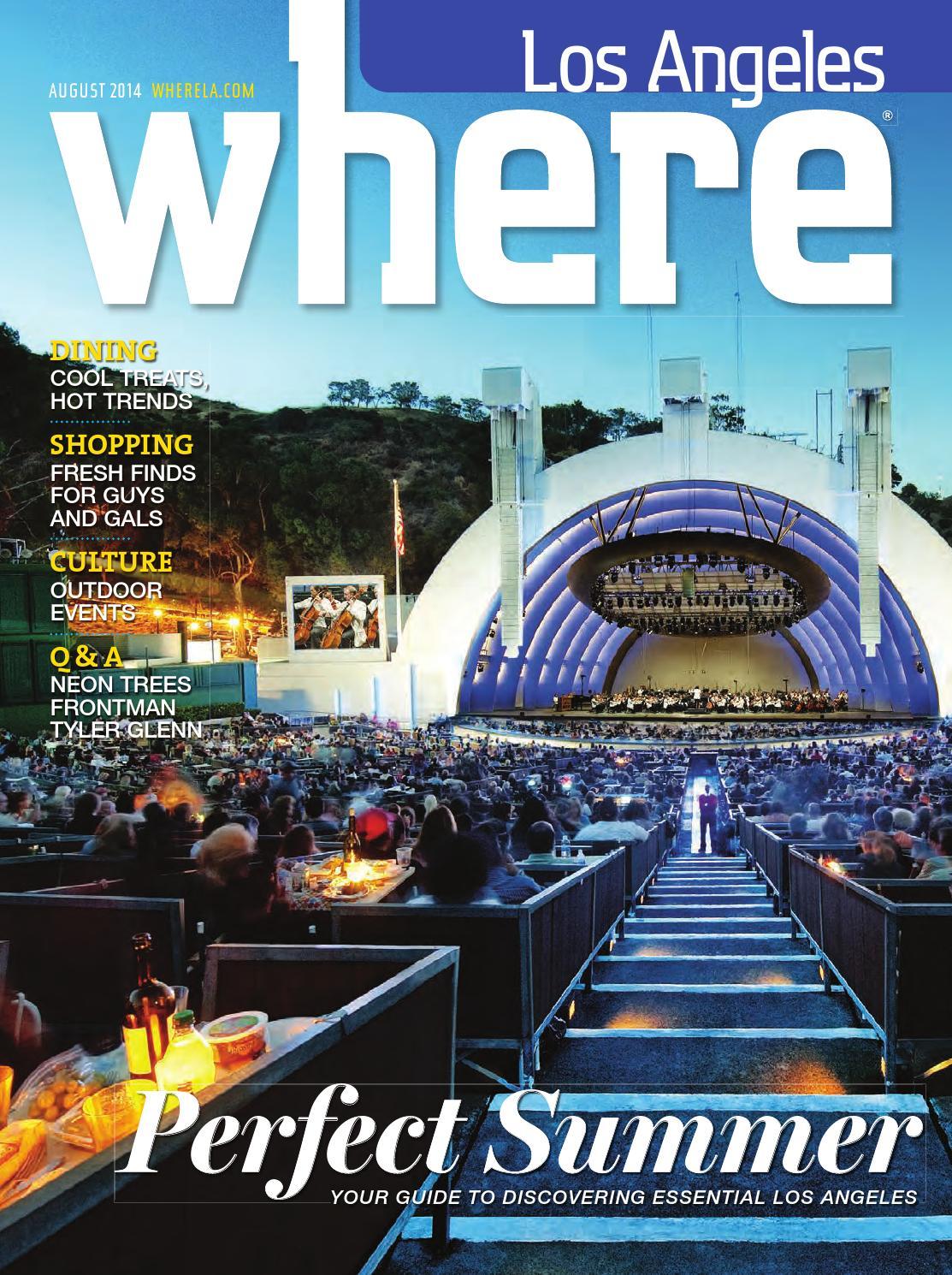 3496cf2eb5049 Where Los Angeles August 2014 by SoCalMedia - issuu