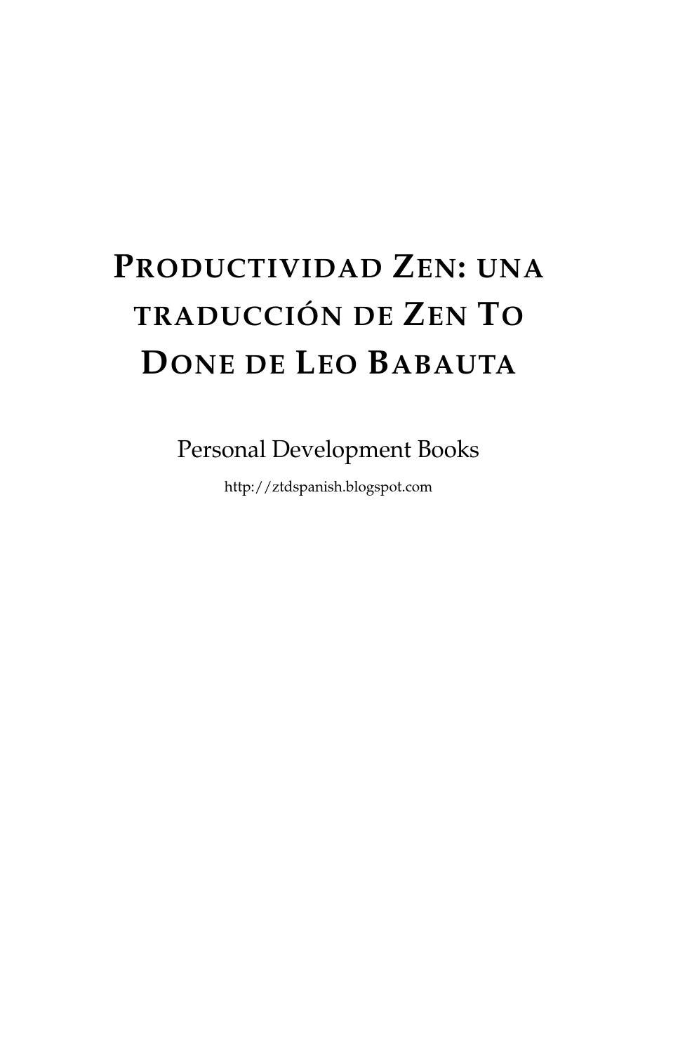 zen to done by carmelo - issuu