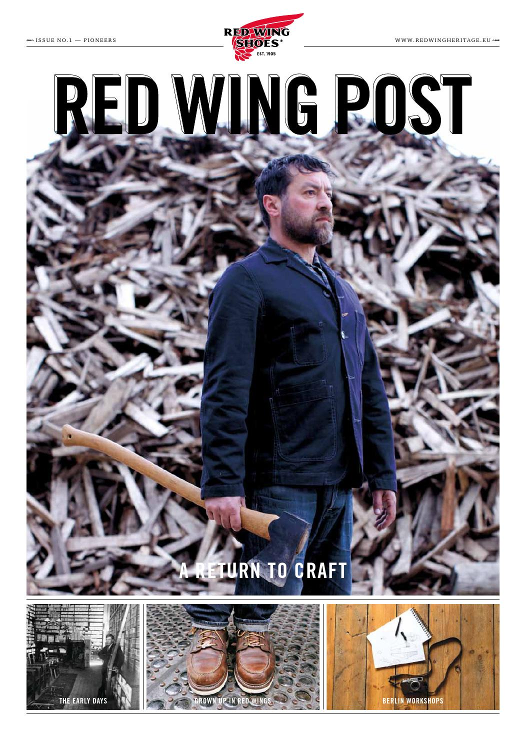 b3ac222257f Red Wing Post - Issue 1 by Red Wing Heritage - issuu