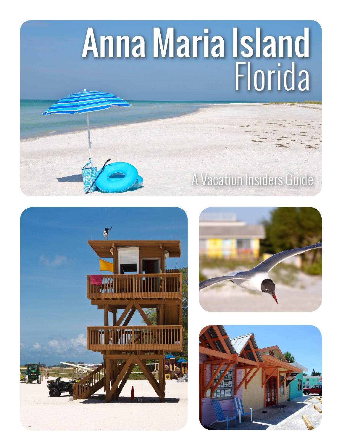 An Insiders Travel Guide to Anna Maria Island by Vacation Insiders  Issuu
