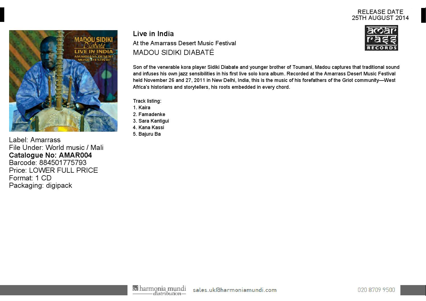 25th August Jazz and World Music new releases by [PIAS