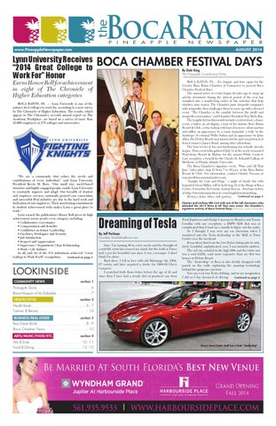 The boca raton pineapple august 2014 by four story media group issuu bocaraton pineapplenewspaper malvernweather Images
