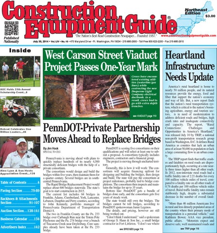 Northeast 16 2014 by Construction Equipment Guide - issuu