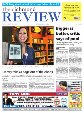 Richmond review july 30 2014 by black press issuu page 1 fandeluxe Gallery