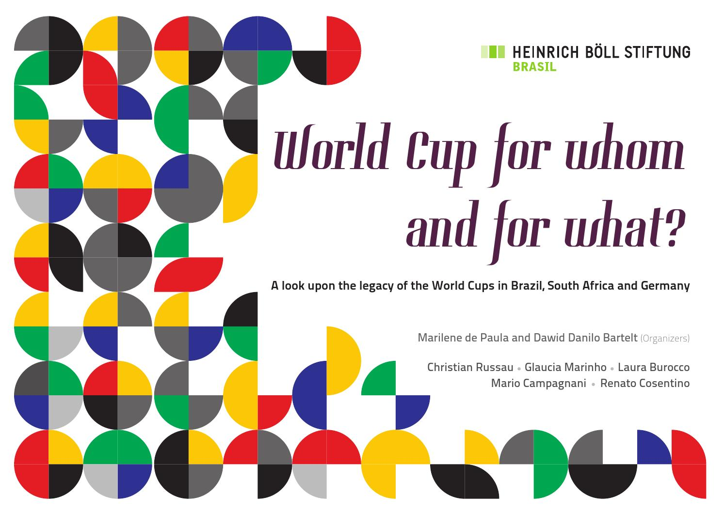 World Cup for whom and for what? by Fundação Heinrich Böll Brasil ...