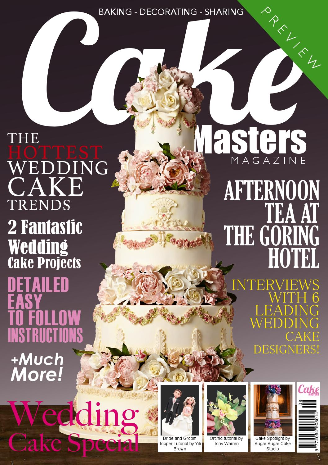 Modern Wedding Cakes Magazine 2013/14 - ON SALE NOW