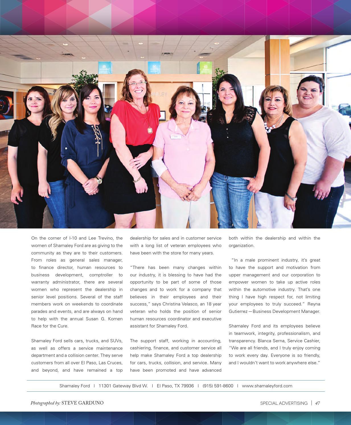 Shamaley Ford El Paso >> Thecity Magazine El Paso May 2014 By Thecity Magazine El