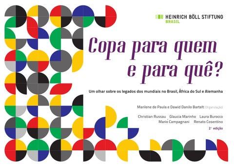 Copa para quem e para quê  - 2ª edição by Fundação Heinrich Böll ... fc87ed1a3f4bb