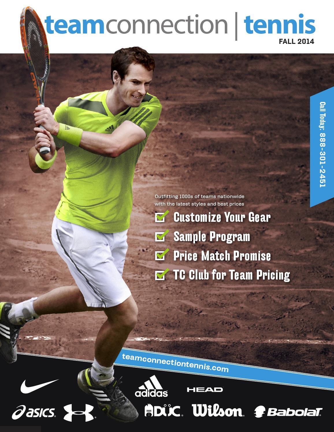 newest 6df79 a9afa Fall 2014 Tennis Catalog