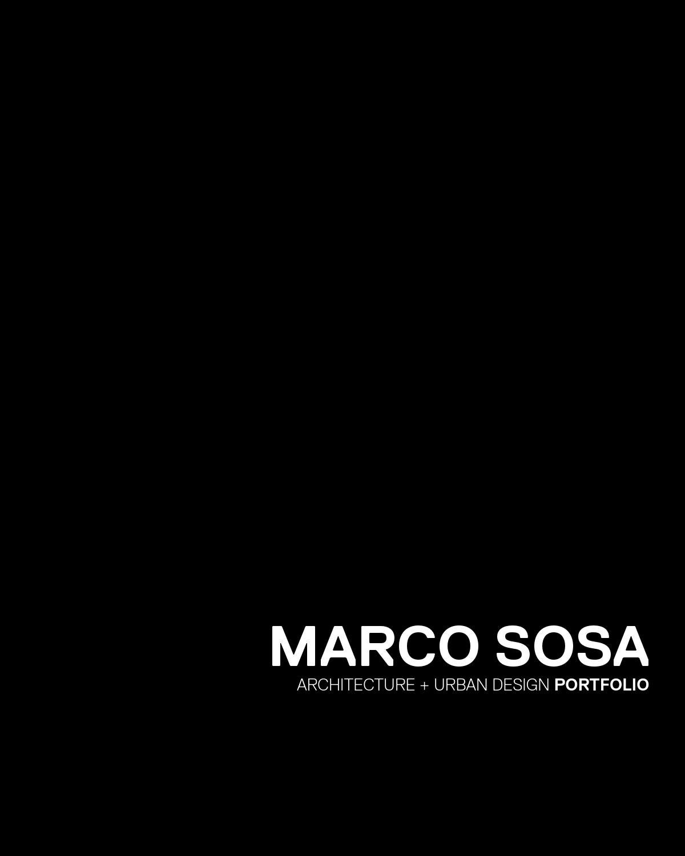 Portfolio by Marco Sosa - issuu