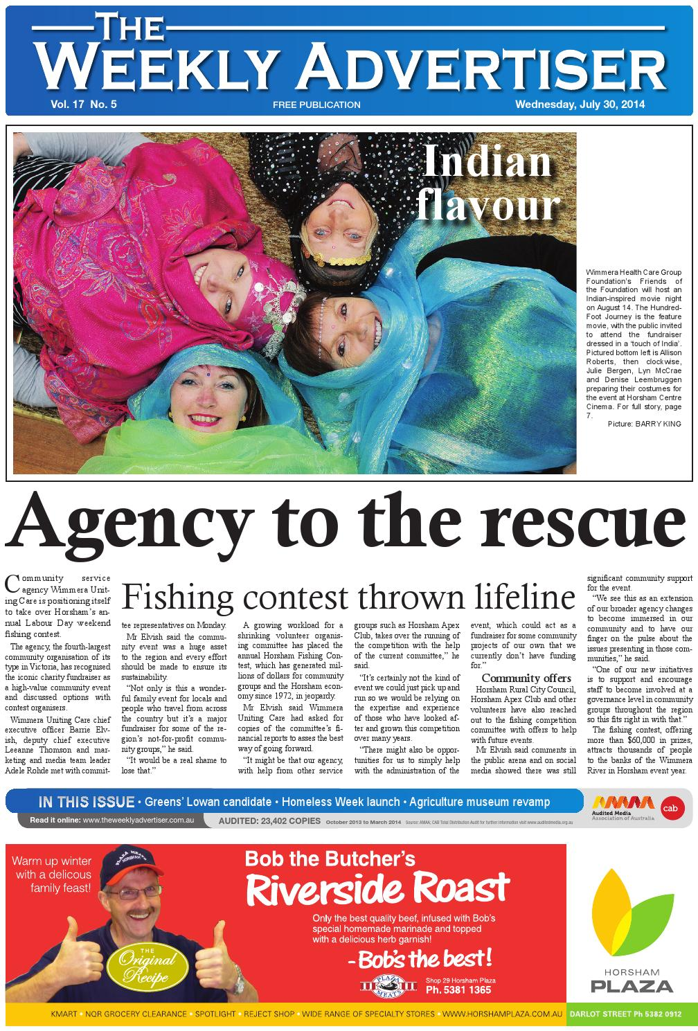 uk availability fdf94 cd1cb The Weekly Advertiser - Wednesday, July 30, 2014