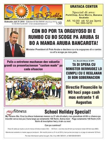 Diahuebs 31 di juli 2014 by Solo DI Pueblo - issuu