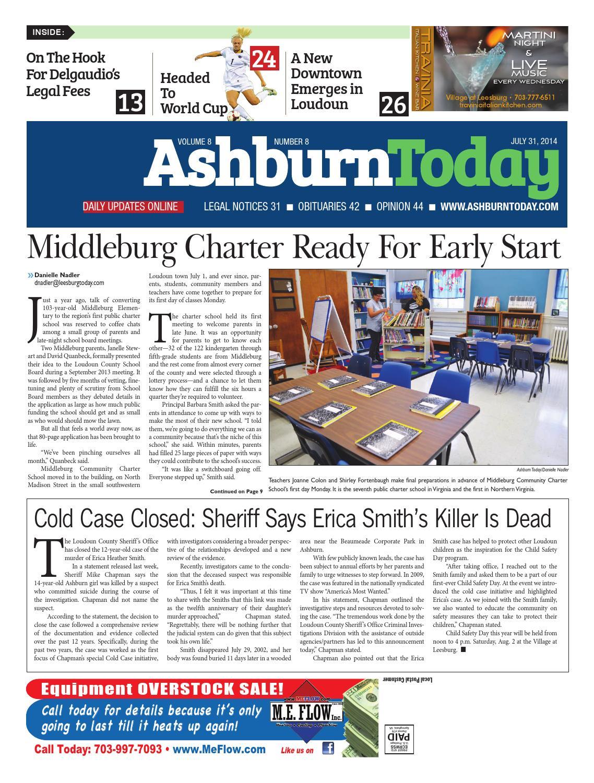Ashburn Today July 31, 2014 by InsideNoVa - issuu