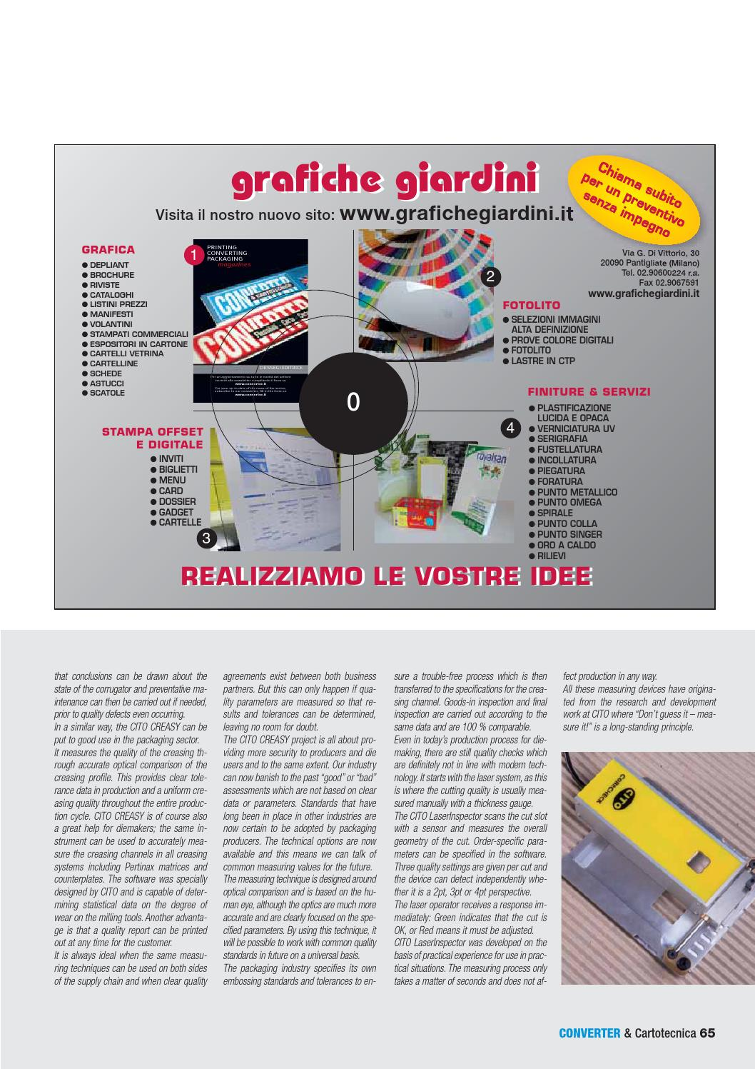 Converter&Cartotecnica july/august 2014 by converter italy - issuu