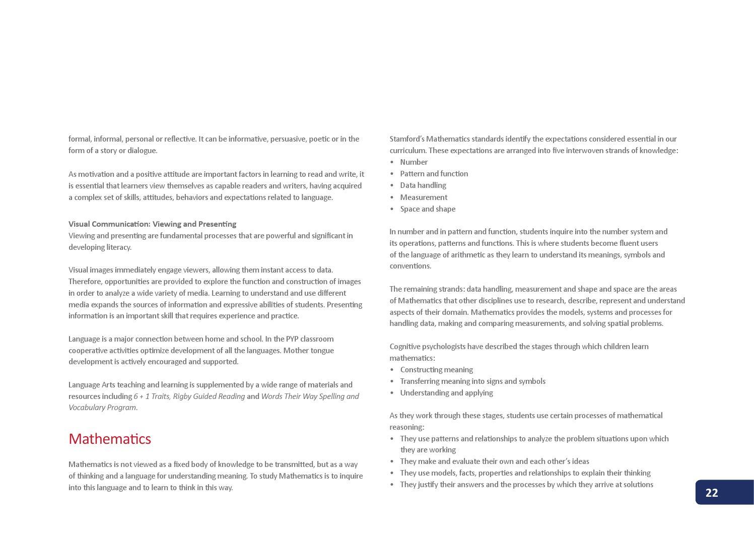 Stamford elementary school curriculum guide by stamford american stamford elementary school curriculum guide by stamford american international school issuu buycottarizona Images