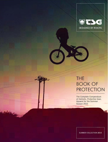 TSG Catalog Summer 2015    The Book Of Protection by TSG Protection ... 7bf5e3519