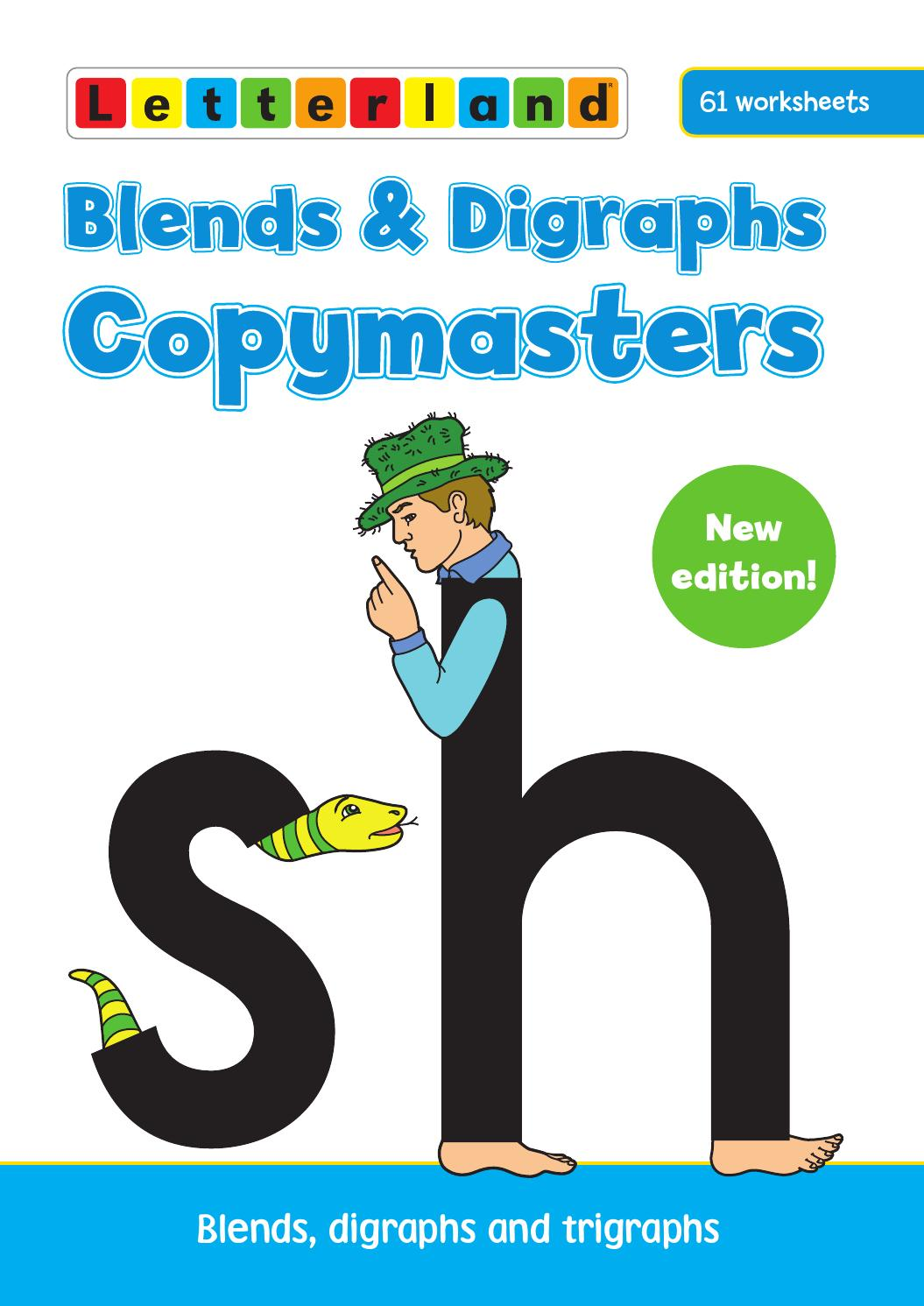 Workbooks r blend worksheets : Blends and Digraphs Copymasters by Letterland - issuu