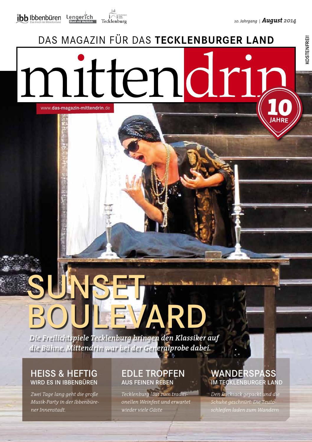 Magazin Mittendrin Ausgabe August 2014 by Magazin Mittendrin - issuu