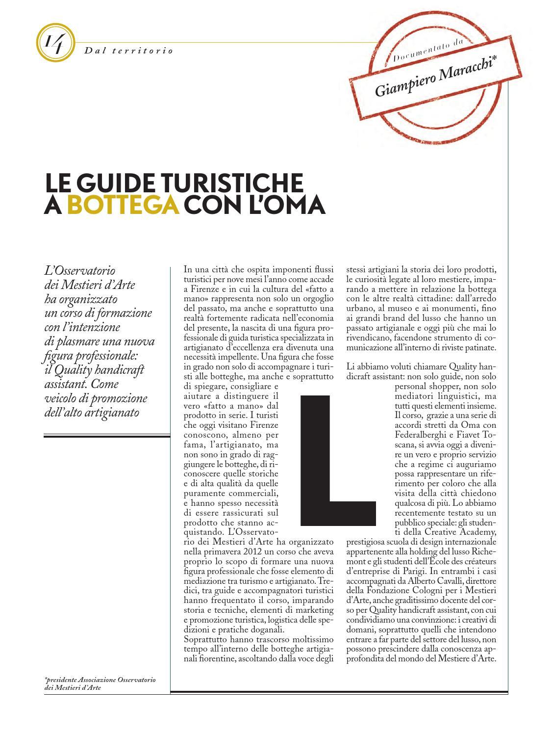 Mestieri Con La L.Mestieri D Arte Design N 7 By Fondazione Cologni Dei