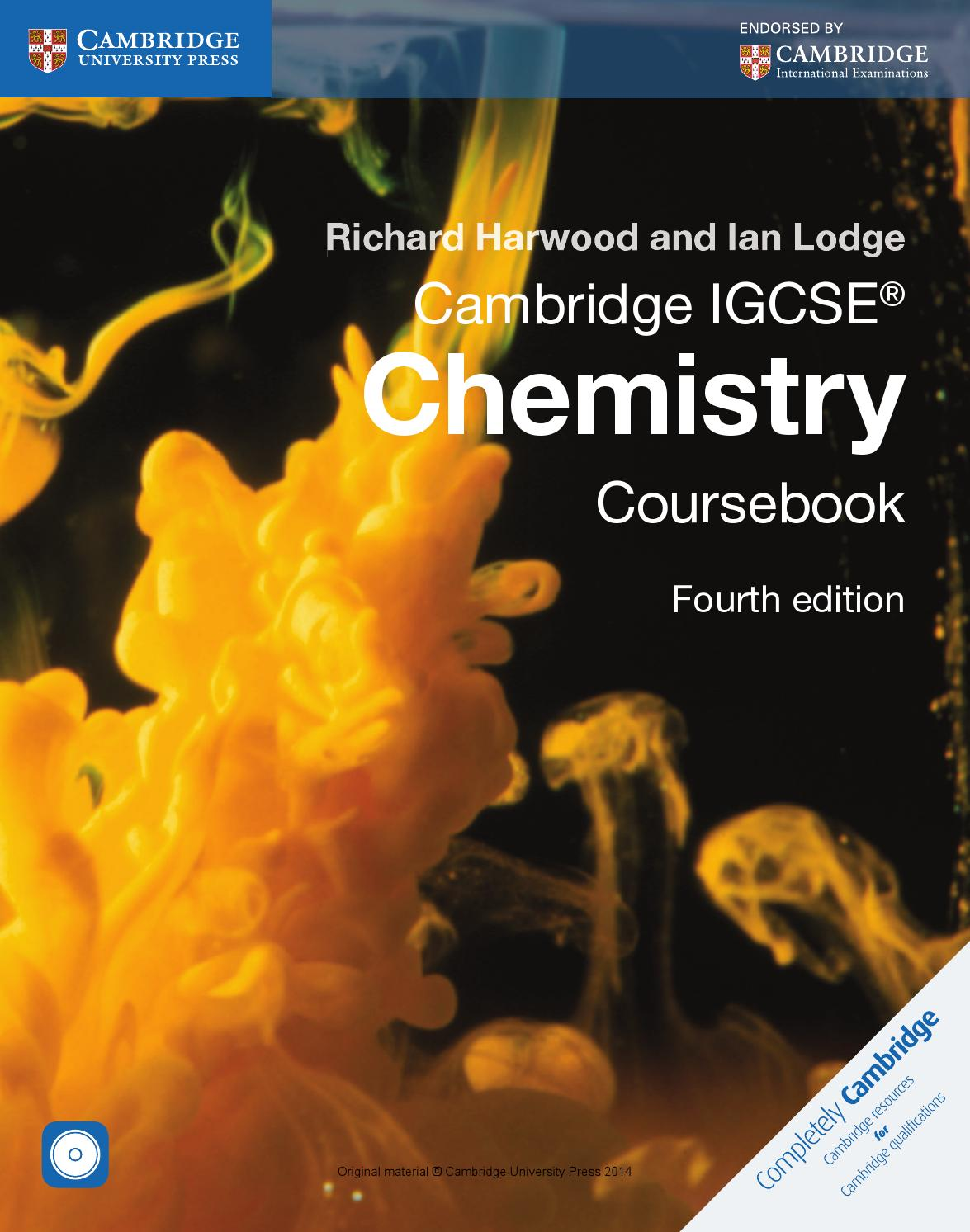 Cambridge igcse chemistry coursebook fourth edition by cambridge cambridge igcse chemistry coursebook fourth edition by cambridge university press education issuu fandeluxe Image collections