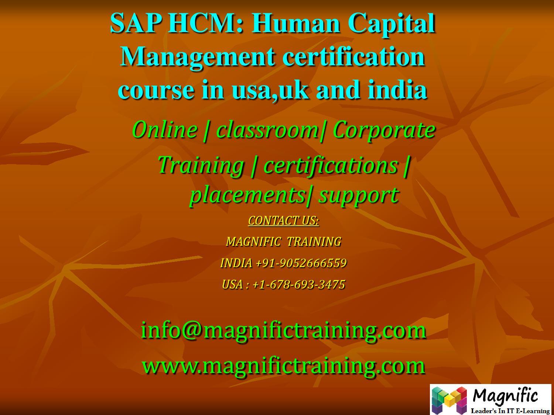 Sap hcm human capital management certification course in usauk sap hcm human capital management certification course in usauk and india by magnificsmily issuu 1betcityfo Gallery