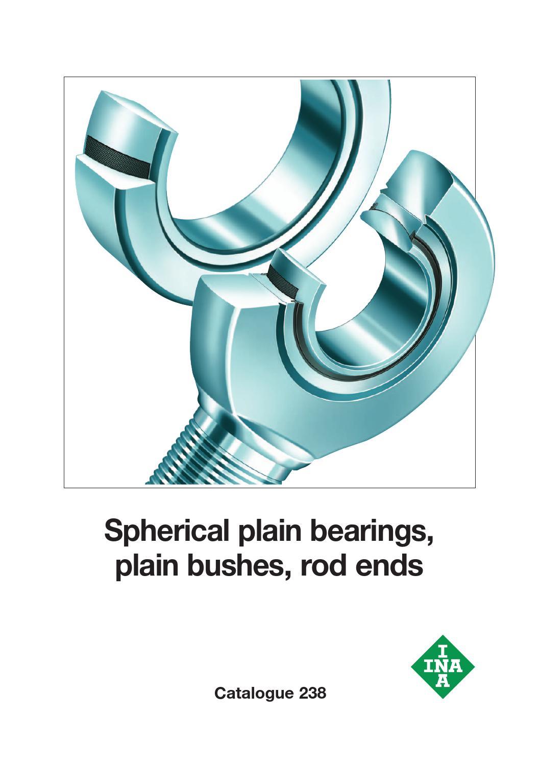 INA-GE35-UK-2RS INA Elges spherical plain bearing