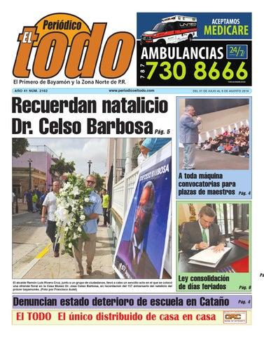 Publicación 2162 by Periódico El Todo - issuu