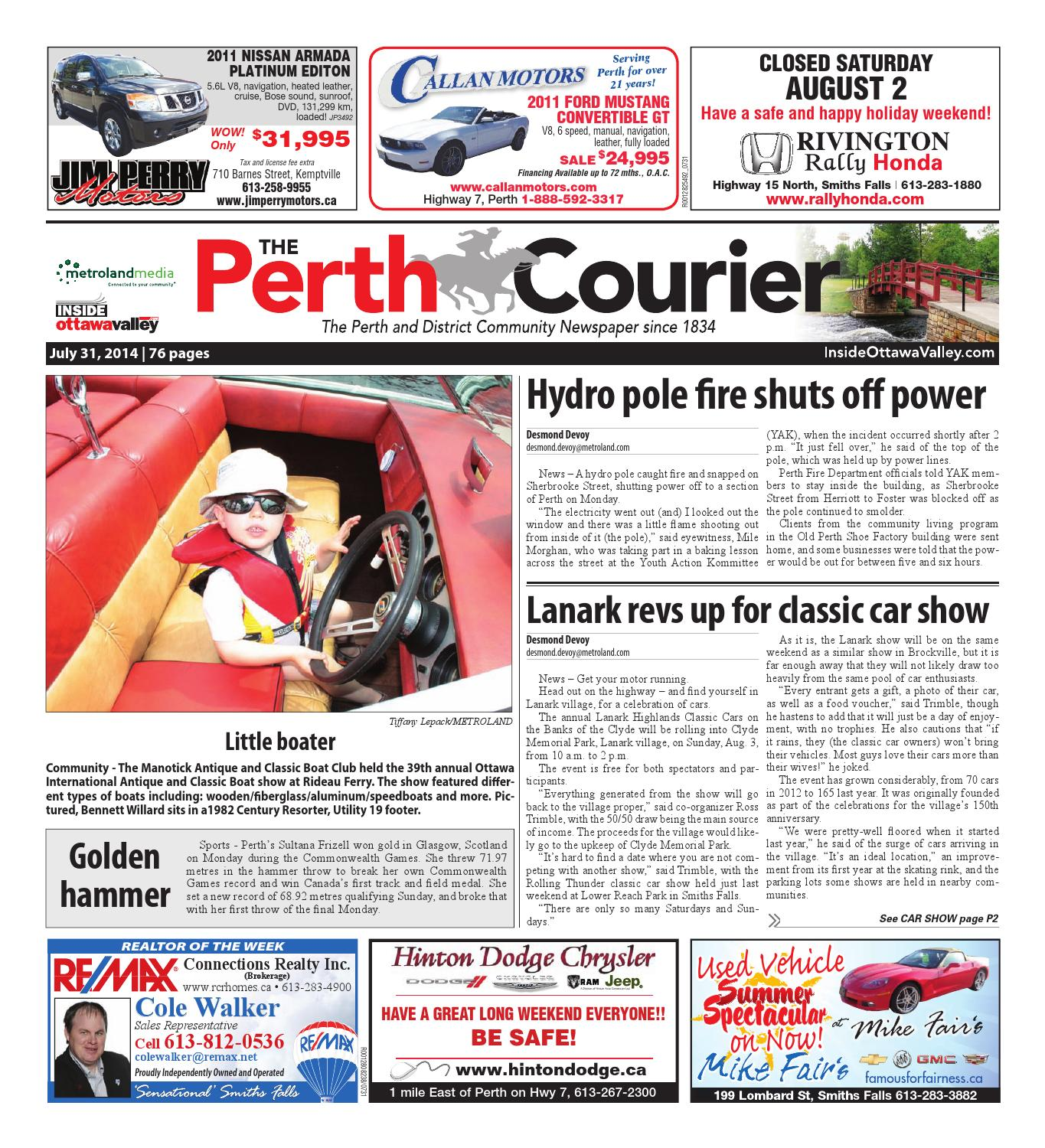 0f6dd170c Perth073114 by Metroland East - The Perth Courier - issuu