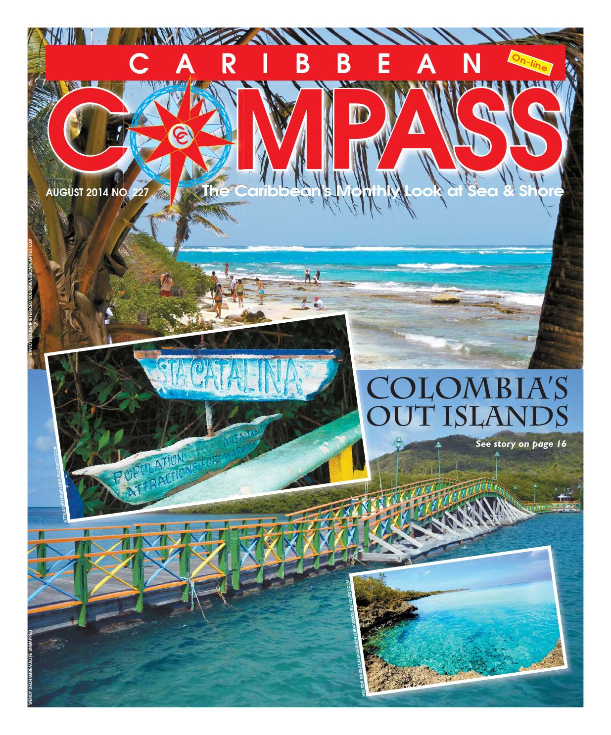 Caribbean Compass Yachting Magazine August 2014 by Compass Publishing -  issuu