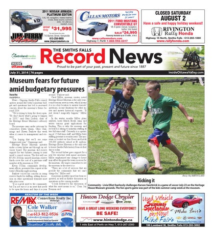 b0ec75c5ce947 Smithsfalls073114 by Metroland East - Smiths Falls Record News - issuu