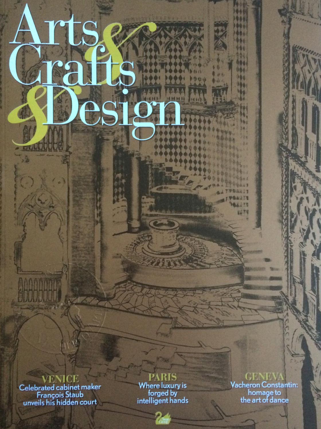Arts & Crafts & Design n°3 by Fondazione Cologni dei Mestieri d\'Arte ...