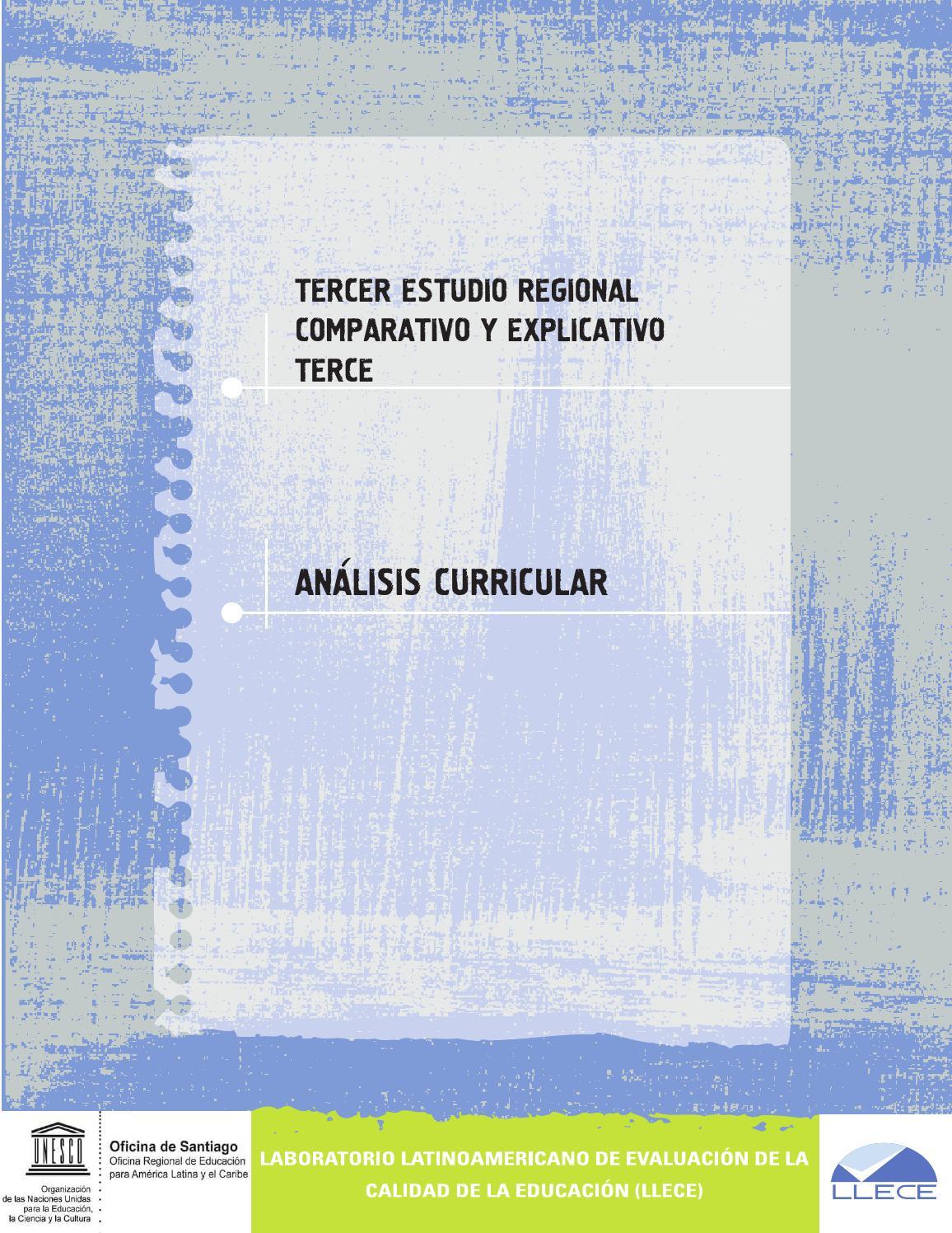 TERCE Análisis curricular by Jaime Espinoza Cruzado - issuu