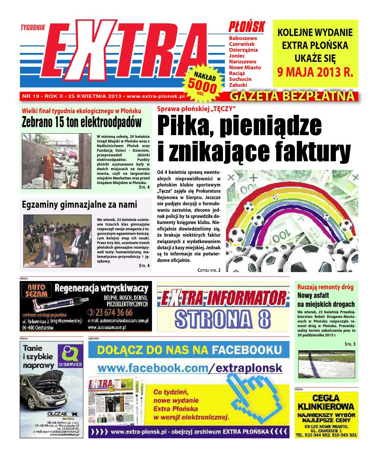 Extra Plonsk Nr 19 25 Kwietnia 2013 By Extrapolska Issuu