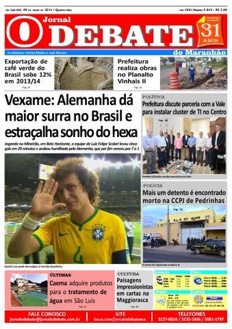 32adb680e8 Jornal O Debate do Maranhão 09.07.2014 by Jornal O Debate do ...