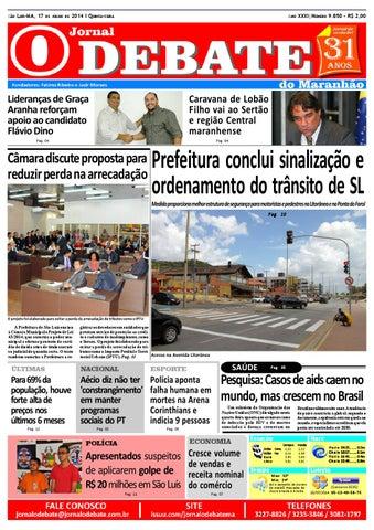 313d55b7f Jornal O Debate do Maranhão 17.07.2014 by Jornal O Debate do ...