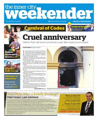 43caeda2e2f Inner City Weekender August 1 by Western Sydney Publishing Group - issuu