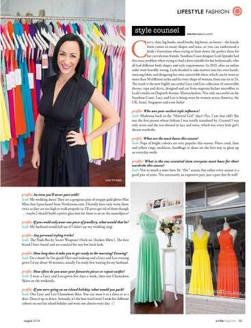 ba16db1116 August Profile Magazine 2014 by Profile Magazine - issuu