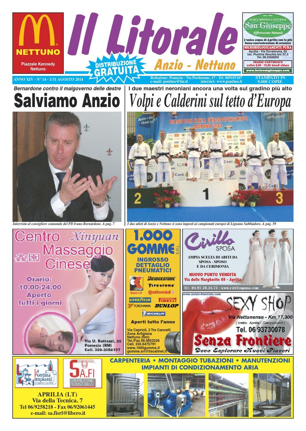 Il litorale n. 14 - 1 31 Agosto 2014 by Il Pontino Il Litorale - issuu ea205a72261