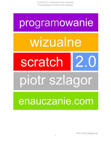 84608066ecd8e Scratch podręcznik (1) by Iwona Cugier - issuu