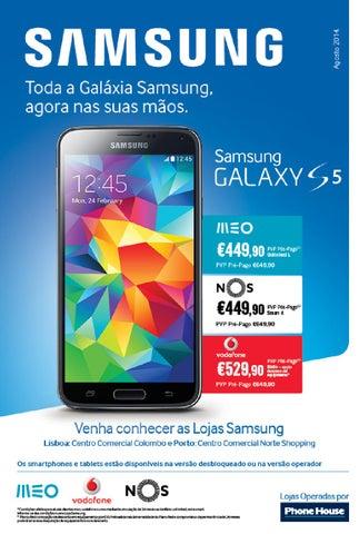 Lojas Samsung Experience: Catálogo | Agosto 2014 by Phone
