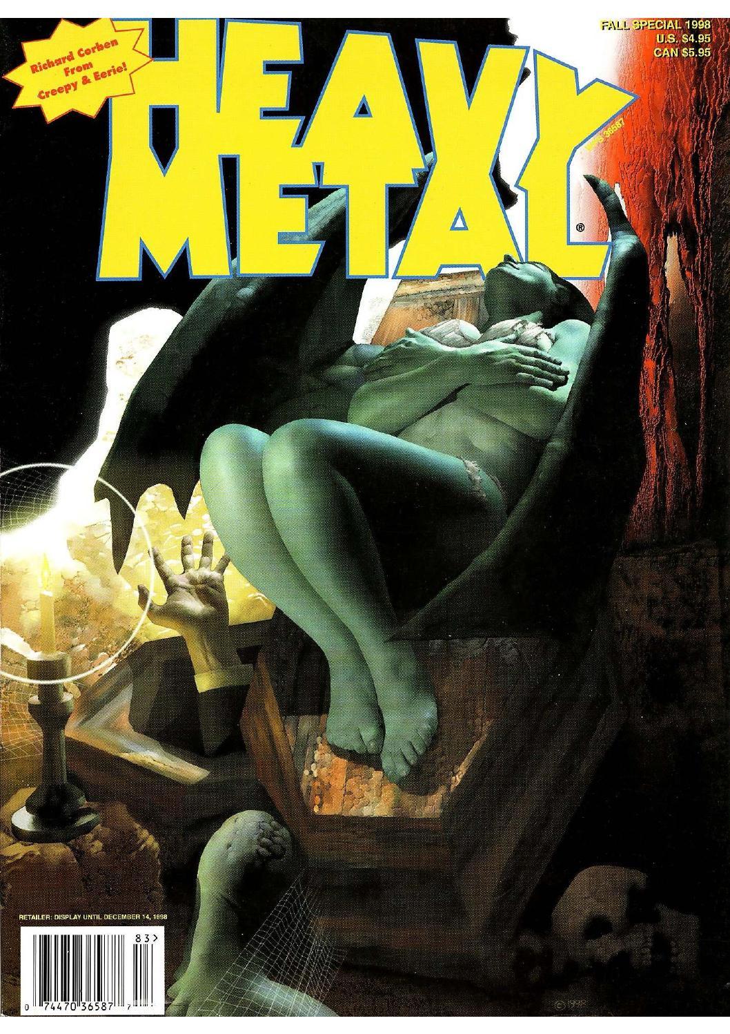 Heavy Metal 199802 Best Of Richard Corben Special By