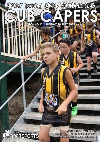 Upwey Tecoma Junior Football Club - Cub Capers Rd 11 2014 by